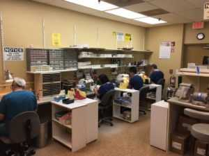 Image of in-house lab providing the highest level of services to our patients.